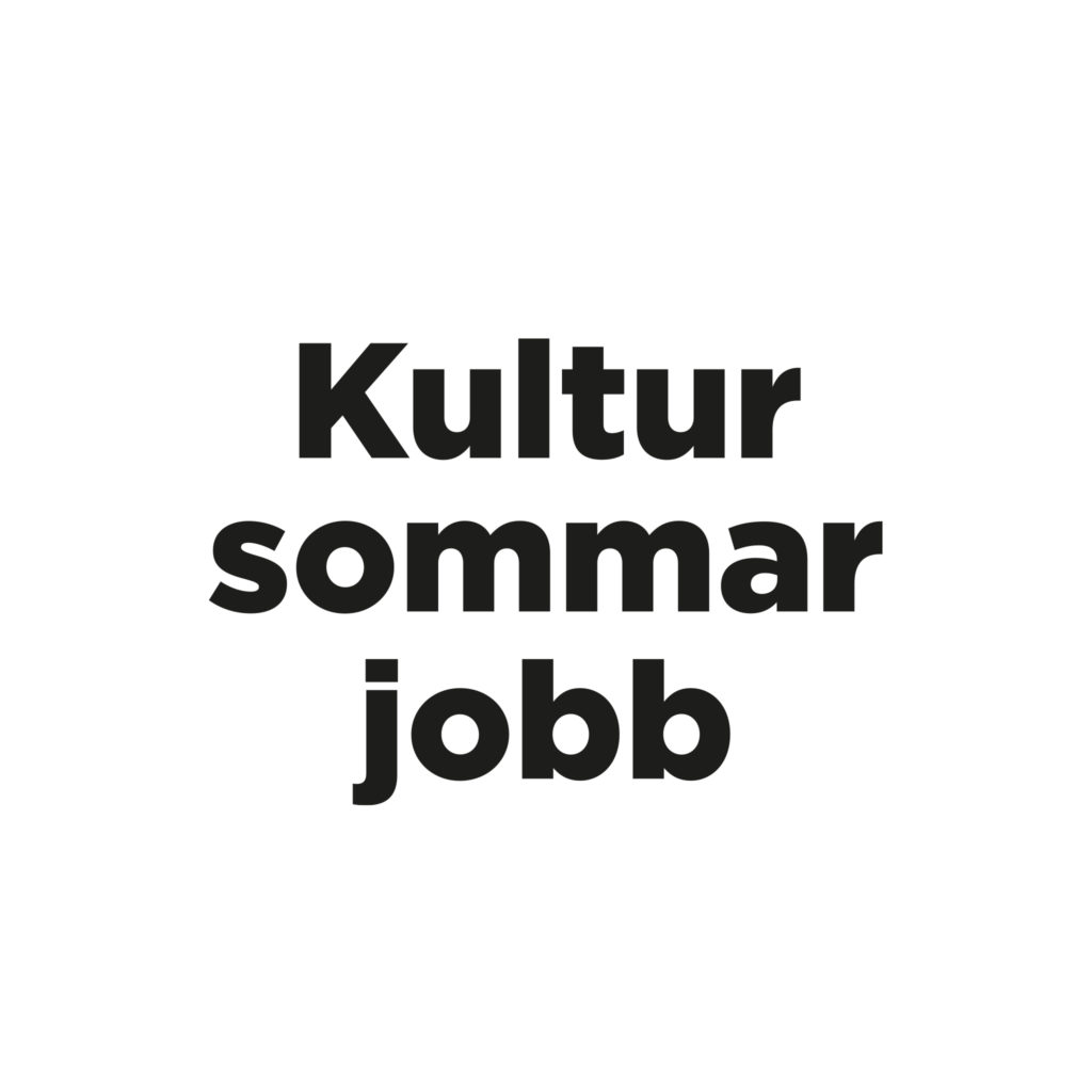 Kultursommarjobb Göteborg